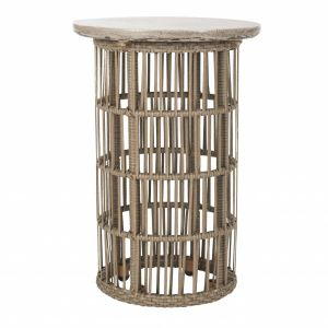 Modern Concrete Accent Table,  EVN1022