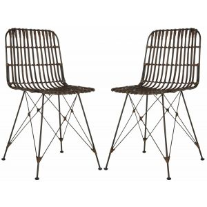 Wicker Dining Chair ( Set of 2 ),  EWK6510