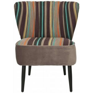Striped Accent Chair,  SEU1034