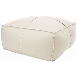 Upholstered Pouf Ottoman,  SEU1041