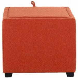 Upholstered Square Storage Ottoman,  SEU1043
