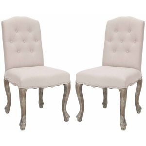 Tufted  Side Chair ( Set of 2 ),  SEU4553