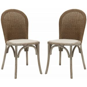 Oak Side Chair ( Set of 2 ),  SEU4599