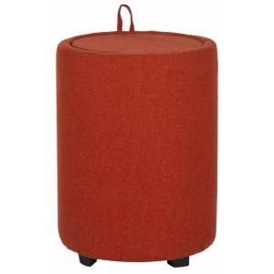 Upholstered Cylinder Storage Ottoman,  SEU4660