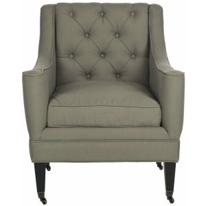 Transitional Tufted Arm Chair,  SEU4661