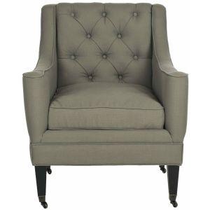 Transitional Tufted Arm Chair,  SEU4661