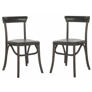 Leather Side Chair ( Set of 2 ),  SEU4688