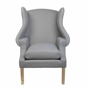 Upholstered Wing Back Chair,  SEU4734