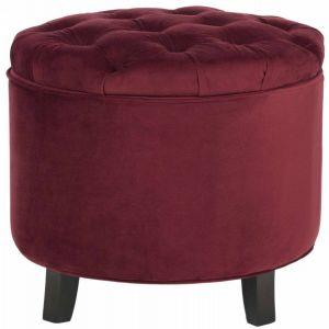 Round Tufted Storage Ottoman,  SEU8220