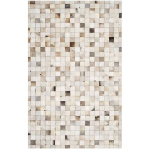 Leather Area Rug, STL517