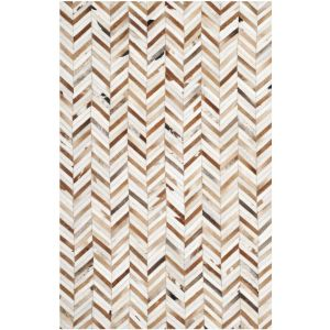 Leather Area Rug, STL519