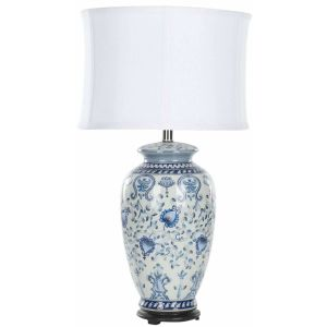 Ceramic Table Lamp,  UKL4023 ( UK PLUG )