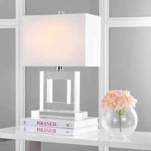 Transitional Crystal Table Lamp,  UKL4115 ( UK PLUG )