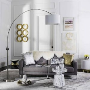 Arched Floor Lamp,  UKL4351 ( UK PLUG )