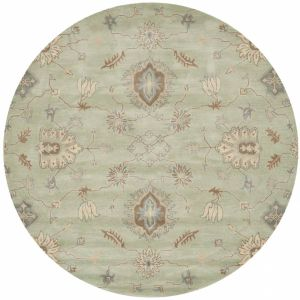 Contemporary Round Area Rug, WYD202